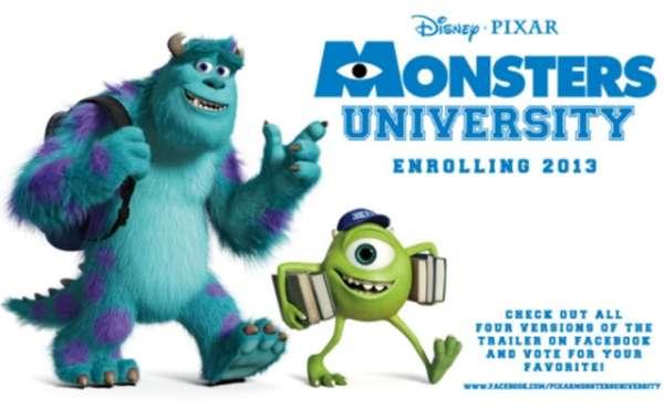 Zoovies: Monsters University