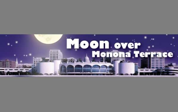 Moon Over Monona Terrace
