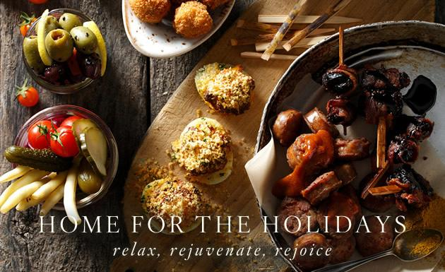 Home for the Holidays: Relaxation package from Inn at the Forks