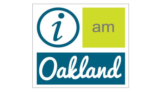 i am Oakland logo