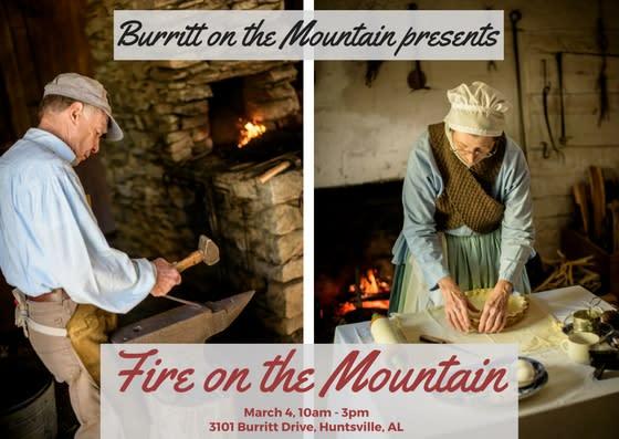 Burritt's Fire On the Mountain Flier