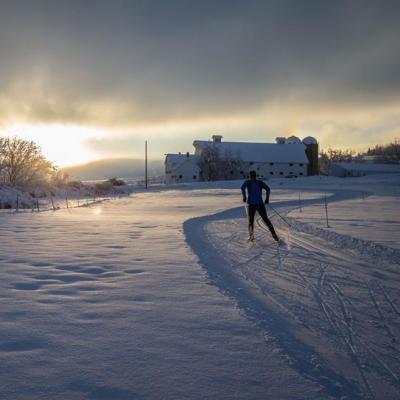 Nordic Skiing at White Pine Center