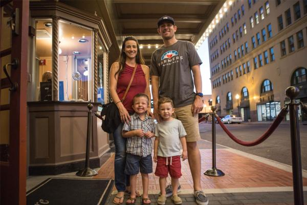 Family night out at Classic Movie Nights