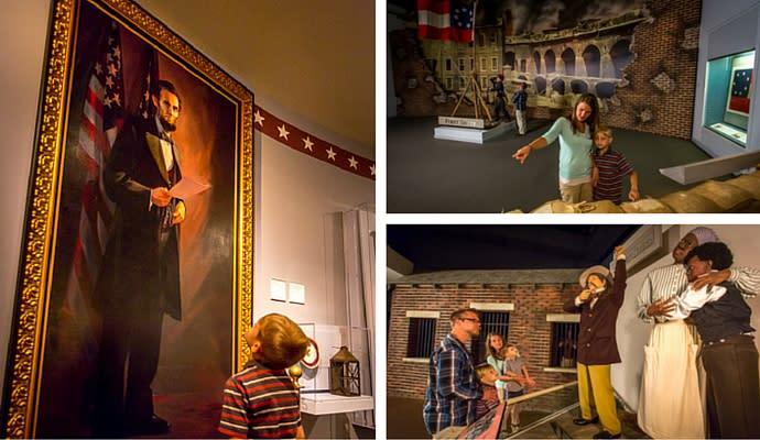 National Civil War Museum in Harrisburg Collage