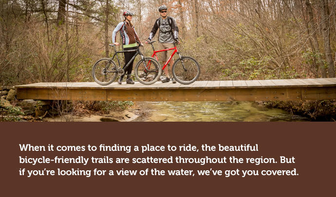 biking along the susquehanna river in hershey harrisburg