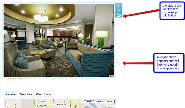 Expanded Photo Markup Doubletree