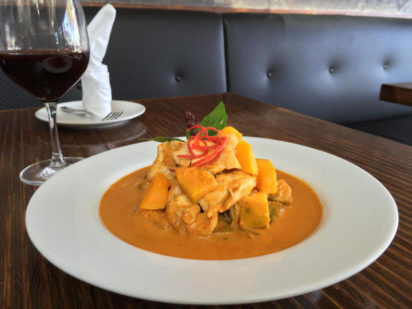 Bangkok Avenue - Pumpkin Curry