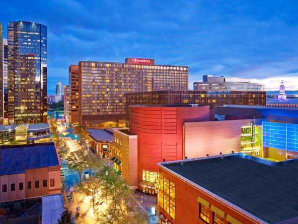 Sheraton Hotel in downtown Denver