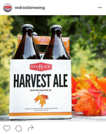 Red Rock Harvest Ale - blog