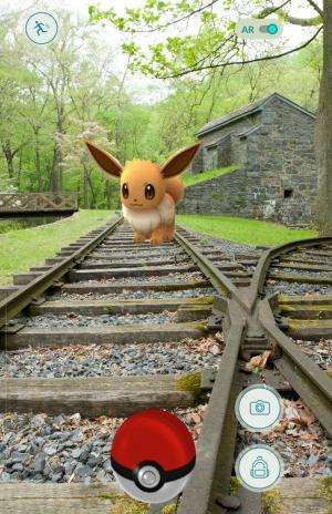 Pokemon at Hagley Museum & Library, Wilmington, Delaware