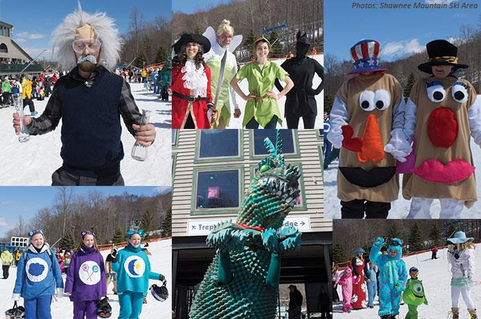 Carnival Costumes at Shawnee Mountain