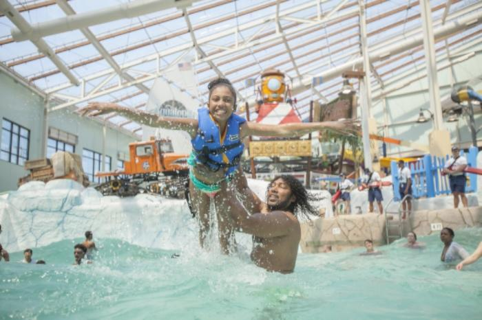 All-Weather Fun at an Indoor Waterpark