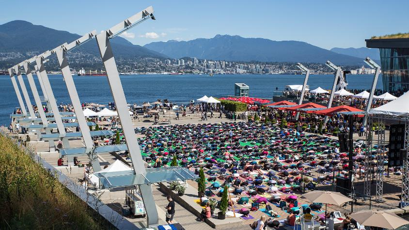 SeaWheeze FAM: Nooner Yoga