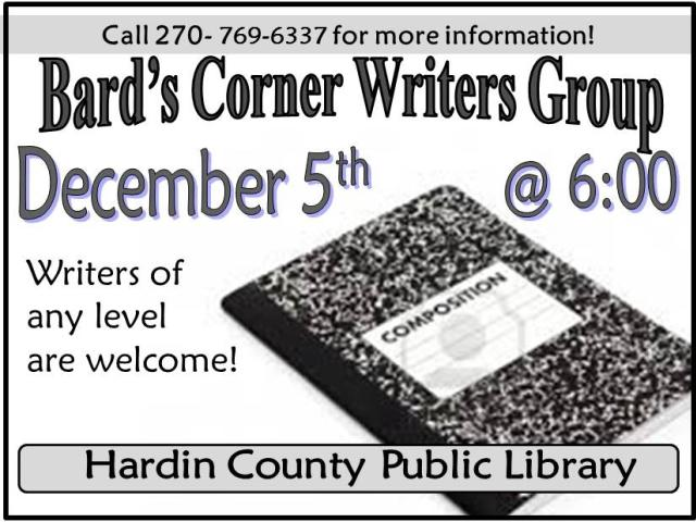 Bard's Corner Writers Group