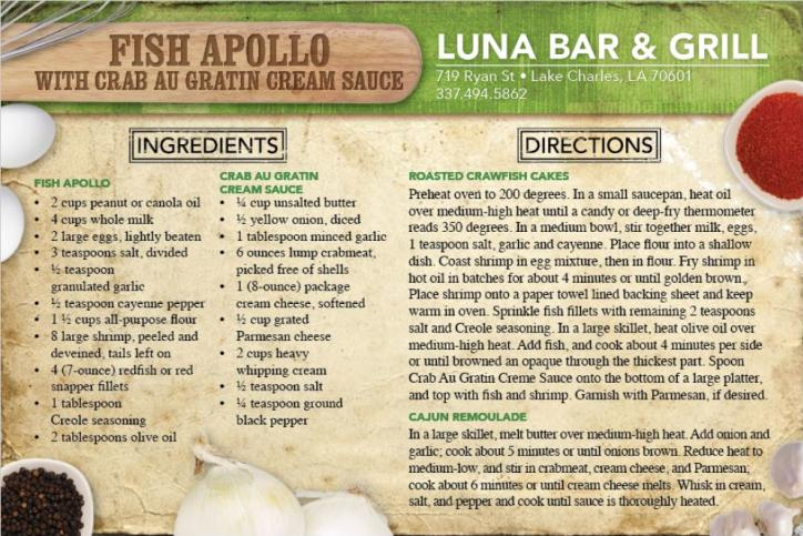 Fish Apollo Recipe