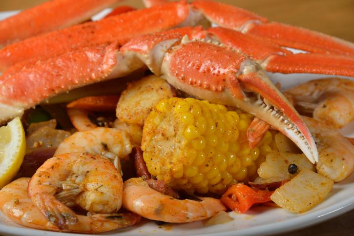 River Grille on the Tomoka Seminole Seafood Boil