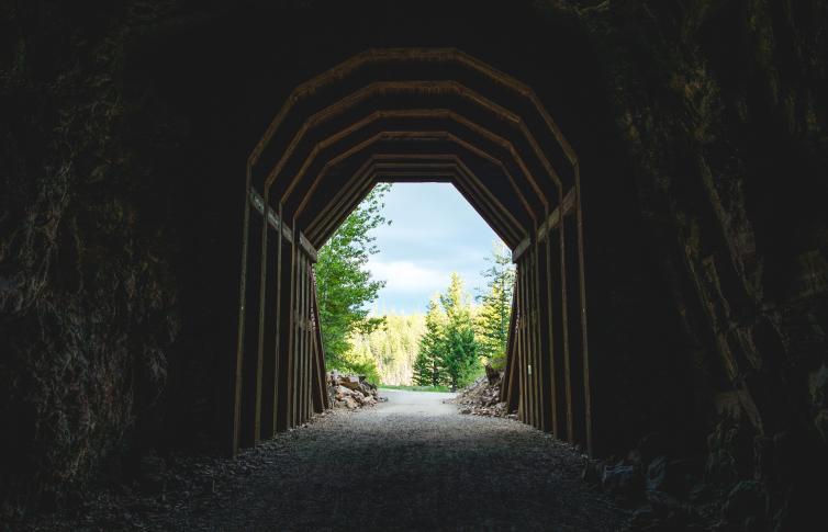 Myra Canyon Tunnel