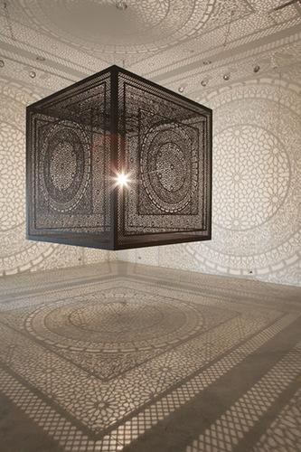 Intersections by Anila Quayyum Agha Public and Tied for Jurors