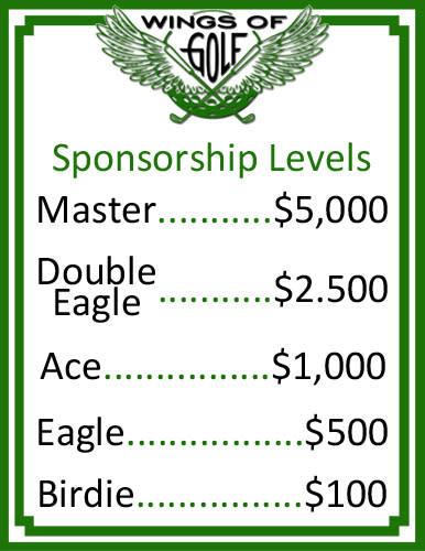 WOG sponsorship levels