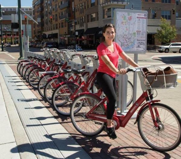 Cincy Red Bike
