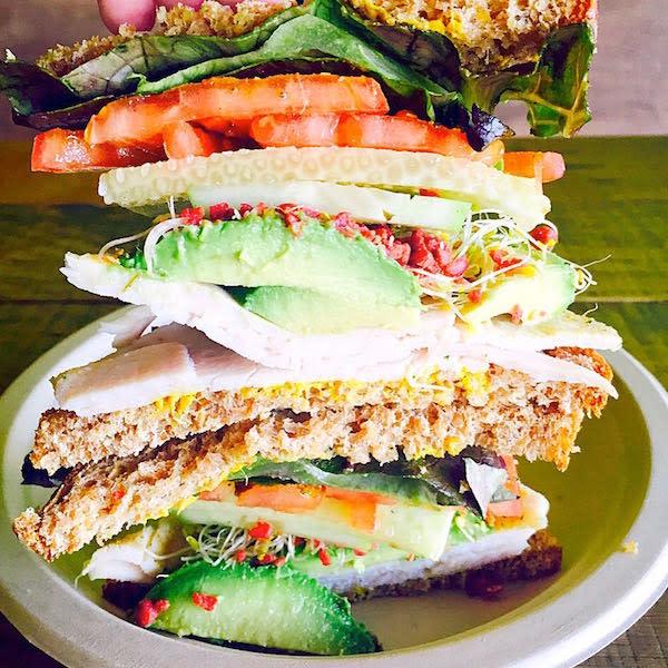 Best Seller Turkey Avocado Sandwich