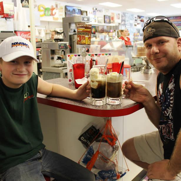 Big State Root Beer Float