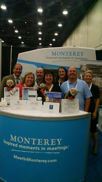 Monterey County CVB & Partners at 2015 ASAE Trade Show Booth