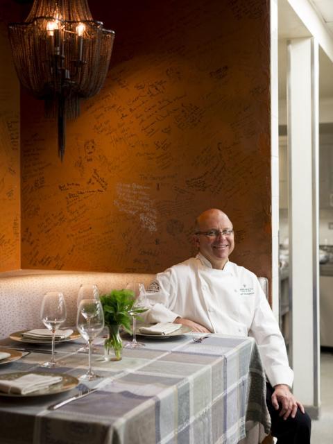 Chef Cal Stamenov at Bernardus Lodge & Spa