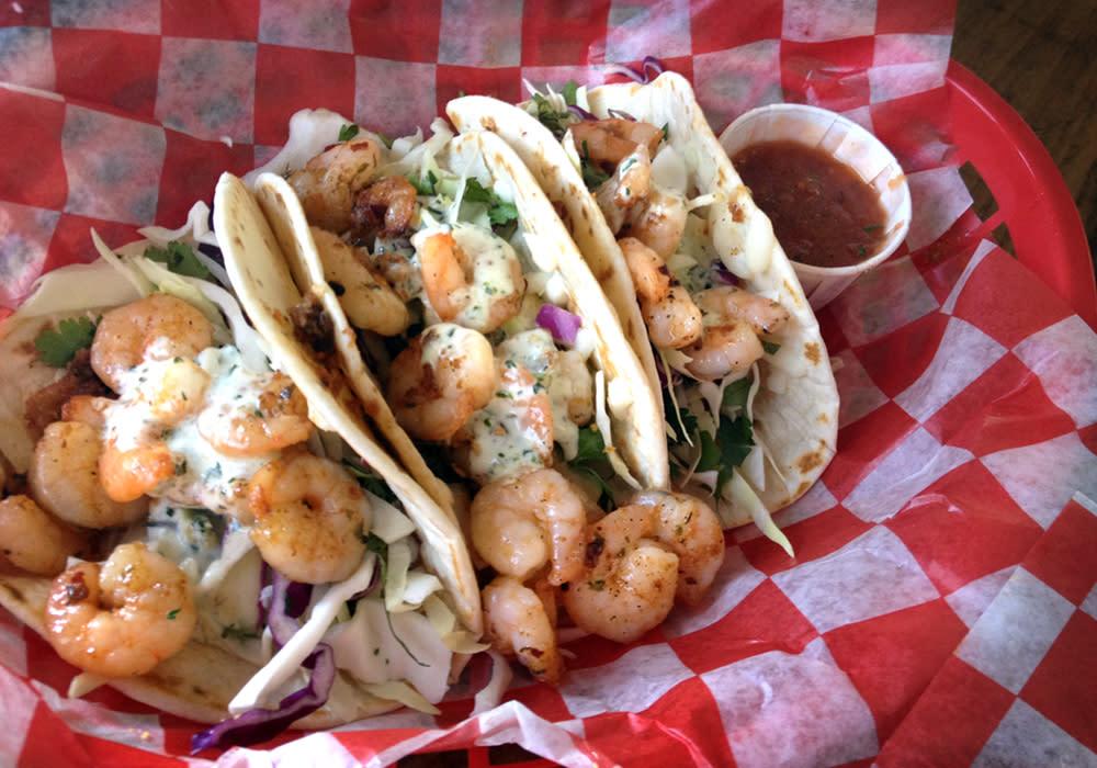 Fish Tacos - Tia Juanita's