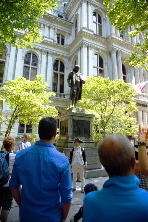 Ben Franklin Statue Freedom Trail