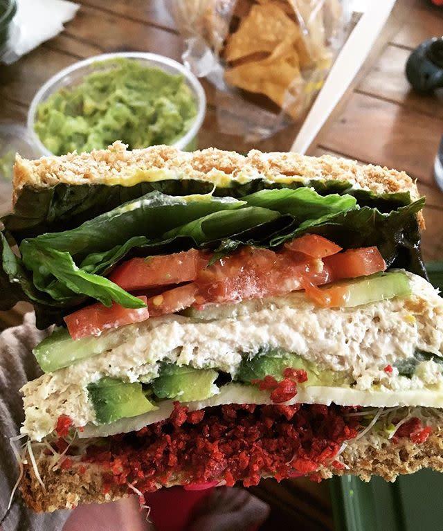 Jan's Tuna Sandwich