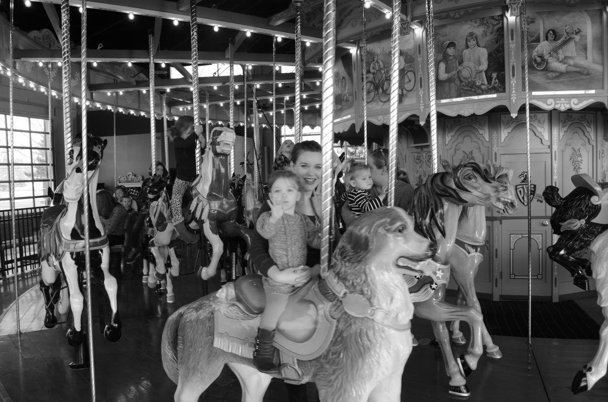 Families can create their own memories at the Carousel at Pottstown
