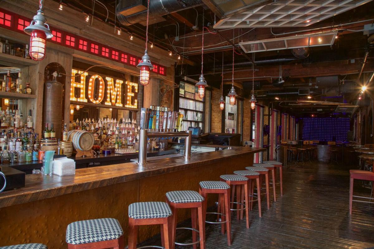 H.O.M.E.'s bar at The B.O.B. in Grand Rapids, MI