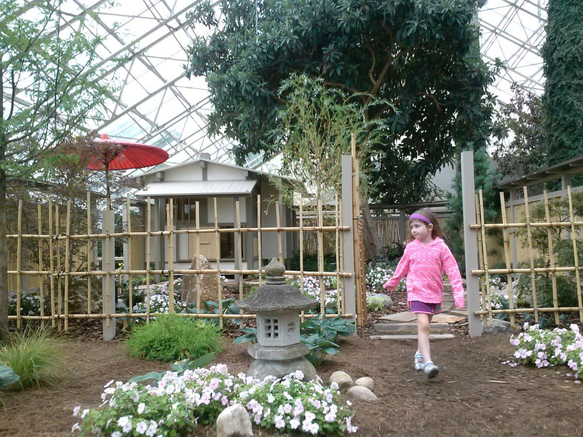 Japanese Tea Garden Botanical Gardens