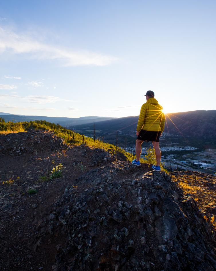 Hiking Mount Boucherie