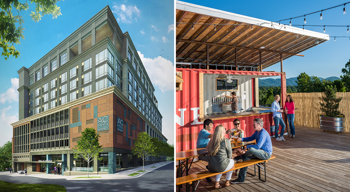 Asheville 2017 - New Hotels and Rooftop Bars