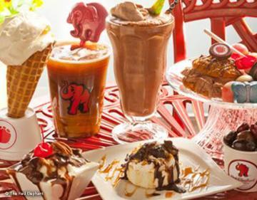 Ice Cream at Red Elephant Chocolate
