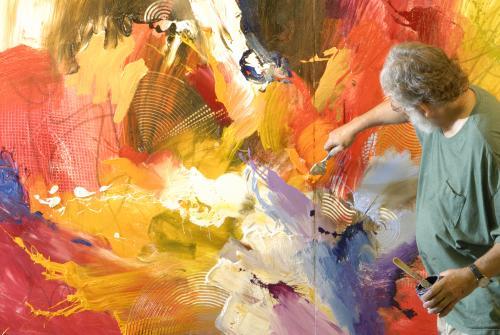 Jonas Gerard painting