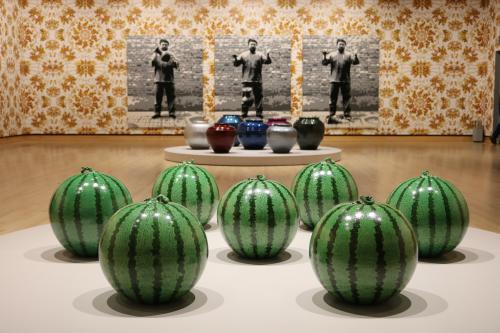 Ai Weiwei artwork at Frederik Meijer Gardens & Sculpture Park