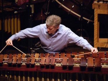 Live from Hochstein – Percussionist Michael Burritt