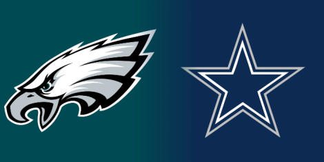 Image result for Philadelphia Eagles vs. Dallas Cowboys
