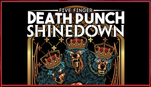 Five Finger Death Punch with Shinedown