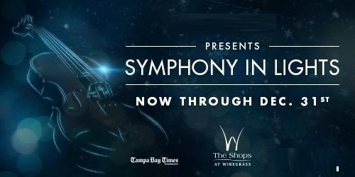 Symphony in Lights - Shows and Snow nightly through December 31st