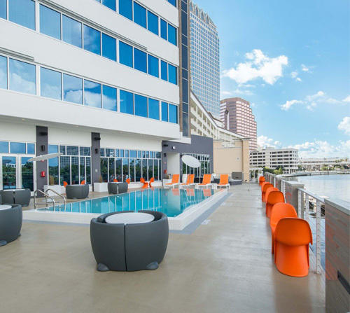 Stay at Aloft Tampa Downtown and receive free specialty cocktails