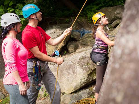 Rock Climbing at CRP