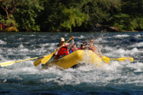 McKenzie River Rafting with TnT