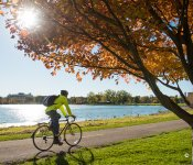Biking in Fall