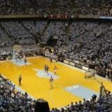 UNC Basketball Court