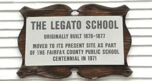 The Legato Schoolhouse and Fairfax County Historical BusTours