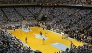 UNC Basketball Court